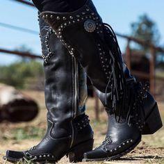 Jim Hugh High Heels Mid Calf Boots Women Winter Motorcycle Buckle Strap Rivet Zipper Platform Punk Footwear