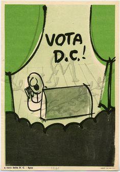 Vota DC! / a cura della DC, 1960