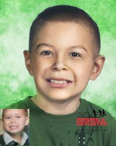 """MIGUEL FELIX Missing SinceMar 9, 2011 Missing FromCathedral City, CA DOBDec 24, 2005 Age Now8 SexMale RaceHispanic Hair ColorBrown Eye ColorBrown Height3'5"""" Weight33 lbs Eveny is shown age-progressed to 9 years, Louis is shown age-progressed to 5 years, and Miguel is shown age-progressed to 7 years. The children were allegedly abducted by their mother, Elizabeth Rojo, on March 9, 2011. They may have left the country and traveled to Mexico."""