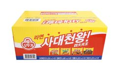 "Korean Instant Noodle ""OTTOGI SADAE CHEON WANG"" Ramen Ramyeon Collection Package #OTTOGI"