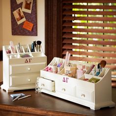 http://www.orglamix.com  Make Up Organization  #makeup #organization #beauty #vanity