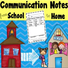 Communication Notes: Included are different communication notes you can use to send home. There are notes for positive and negative behaviors. These are great to keep the lines of communication open between school and home! Kindergarten Classroom, Kindergarten Activities, School Classroom, Classroom Ideas, Classroom Organization, Preschool, First Year Teachers, Parents As Teachers, Individual Behavior Chart