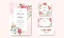 Best Place to Sell Photos Online, Footage Clips, Illustrations, & Vectors – Adobe Stock Wedding Invitation Card Template, Elegant Wedding Invitations, Vector Online, Photo Online, Wedding Cards, Beautiful Flowers, Vectors, Adobe, Wedding Flowers