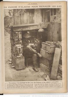 WW1, Gas signaler. -Le Miroir : publication hebdomadaire -- 1917-09-30…