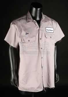 Jaxs (Charlie Hunnam) Teller-Morrow Mechanic Shirt   Prop Store - Ultimate Movie Collectables