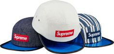【Supreme(シュプリーム)】新作/先行販売!店頭販売のみの商品を仕入れ中! Blue Angler Camp Cap