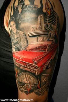 Elvis Presley killer tattoo... I want one!