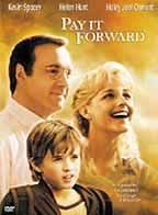 Pay it Forward: A young boy attempts to make the world a better place after his teacher gives him that chance. Director: Mimi Leder Writers: Catherine Ryan Hyde (book), Leslie Dixon (screenplay) Stars: Kevin Spacey, Haley Joel Osment and Helen Hunt Kevin Spacey, Helen Hunt, See Movie, Movie Tv, Movies Showing, Movies And Tv Shows, Film Marathon, Peliculas Audio Latino Online, Haley Joel Osment
