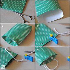 DIY. Paper bag-kid's kit