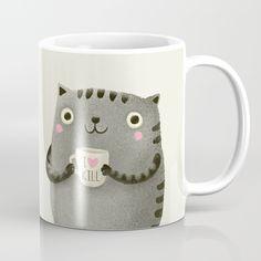 I♥kill (brown) Mug