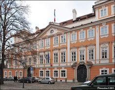 Česko, Praha - Buquoyský palác
