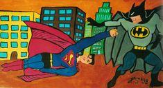 Superman, Batman, Pictures