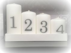 Advent candles in Clas Ohlsson
