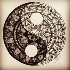 nice Geometric Tattoo - Mándala...