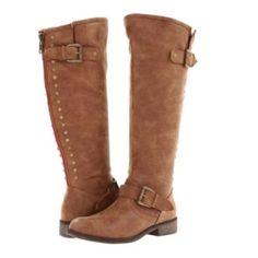 d8561925ad42 Steve Madden Cactus Boots Cognac Riding Boots