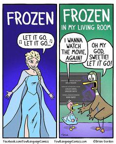 These Brutally Honest Parenting Comics Will Crack You Up - Cosas Graciosas - Humor Funny Captions, Funny Jokes, Hilarious, Mom Jokes, Cartoon Jokes, Funny Gifs, Popsugar, Fowl Language Comics, The Awkward Yeti