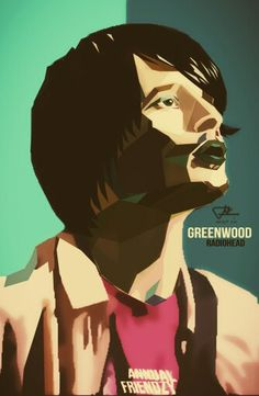 Greenwood - Radiohead Favorite guitarist - #art #artivisual
