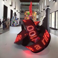Design: A winding digital display / Università degli Studi di Milano