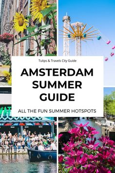 Discover Amsterdam like a local with my new Collection of Amsterdam Travel Guides for All available for free on Tulips & Travels! Amsterdam Things To Do In, Visit Amsterdam, Amsterdam Food, Hotel Amsterdam, Amsterdam Netherlands, Amsterdam Tulips, Amsterdam Travel Guide, Black Background Wallpaper, List Challenges