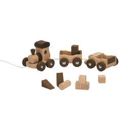 Train Amsterdam Nature & 10 blocks #DiploPicks #toys #woodentoys
