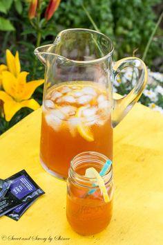 Introducing a new iced tea flavor: classic earl grey tea with lemon and honey. Bright, refreshing and citrusy! Earl Grey Tea Benefits, National Iced Tea Day, Homemade Iced Tea, Detox Tea Diet, Tea Cocktails, Iced Tea Recipes, Earl Gray, Rose Tea, Sweet Tea