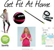 Gear Girl: Get Fit At Home - affordable gear, cute clothes and exercise apps to aid your workout at home