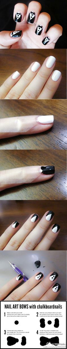 So cute. I want to let my nails grow out and try it.
