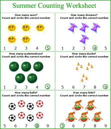 Summer Packet | Coloring, Kindergarten fun and Summer