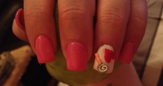 My nail art :) x