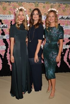 Beulah girls at the Boodles Boxing Ball 2015 #Beulah.  http://www.boodles.com/boodles-jewellery/boodles-boxing-ball-2015/