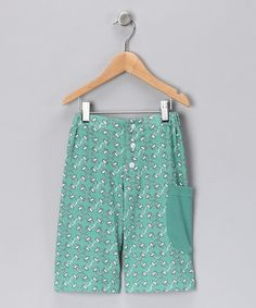Take a look at this Green Pocket Organic Shorts - Toddler & Boys by baobab on #zulily today!
