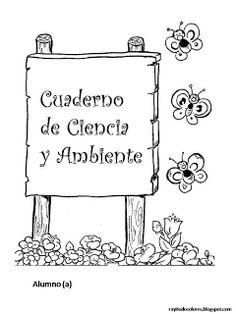 CoSqUiLLiTaS eN La PaNzA BLoGs: Carátulas para cuadernos escolares
