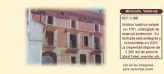 V698 Moncada. Valencia.  Casa señorial en venta ideal hotel, restaurante o eventos.