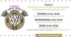 V. Sattui Winery :: Woohoo! BIG reasons to celebrate for V. Sattui Winery