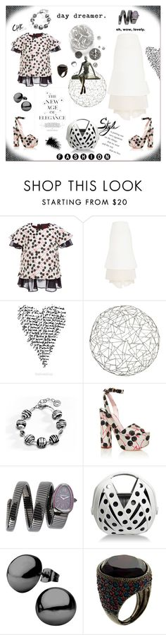 """""""The new age of elegance"""" by zabead ❤ liked on Polyvore featuring Giamba, Aime, Arteriors, Antica Murrina, MAD, Perrin, Kenneth Jay Lane, women's clothing, women and female"""