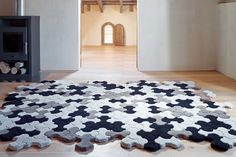 Alfombra Gan-rugs disponible en MGF. www.mgfdiseñointerior.com
