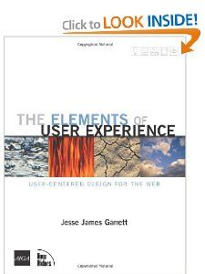 The Elements of User Experience- Jesse Garret, suggested by UMSI Faculty and Students.