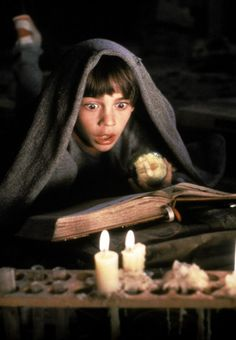 The NeverEnding Story. Bastian reading in the attic.