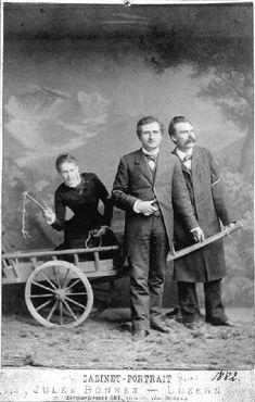 Lou Andreas Salomé, Paul Rée und Friedrich Nietzsche