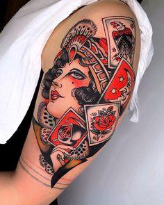 Search inspiration for a New School tattoo. Traditional Tattoo Arm, Traditional Tattoo Sketches, Leg Sleeve Tattoo, Arm Band Tattoo, Head Tattoos, Cool Tattoos, Black Rose Tattoos, Modern Tattoos, Angel Tattoo Men
