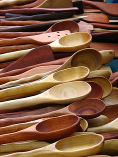 I find myself using wooden utensils more and more. I just like the feel of using them.