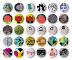 All Stereohype Button Badge Design Competition Winners 2013 in full size (lo-res) glory #STBBDC http://stereohype.com