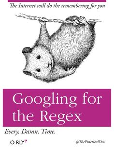 Googling for the Regex