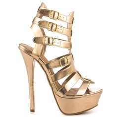 Aster - Gold JustFab $54.99