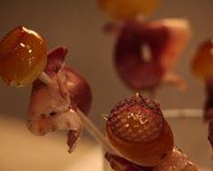 Sucettes magret-raisin