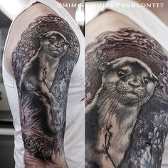 My otter by the amazing http://instagram.com/mimissikuite