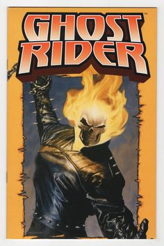 Ghost Rider Poster Book Regular Laurel Blechman Cover (2004)