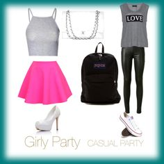Party Types by livinlifewithlauren on Polyvore featuring polyvore fashion