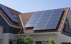 Properly placed solar panels create an efficient power system.