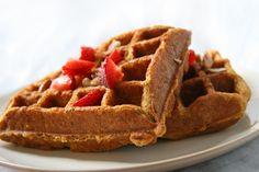 quinoa waffles by Natural Noshing